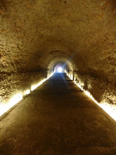 Ancient Roman tunnels in Tarragona