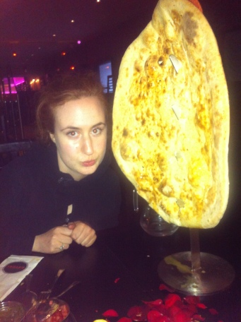 "Now THAT''S a Naan . Wiinner of ""Best Scottish Curry awards..."""