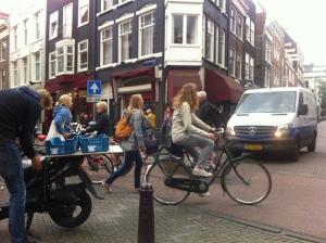 Trraffic jam! Amsterdam