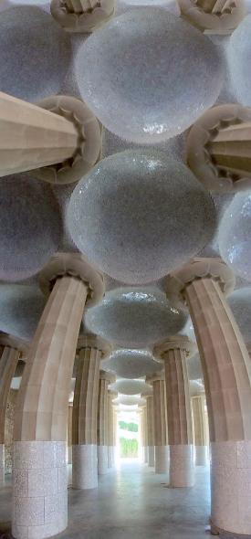 Interior, Park Guell