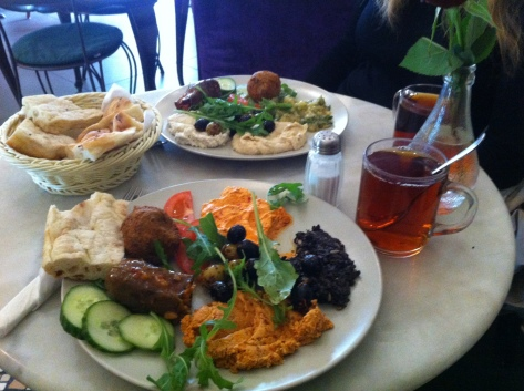 Yummy Turkish lunch